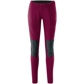 Maier Sports Ophit Plus Mallas Trekking Elásticas Mujer, violeta/gris